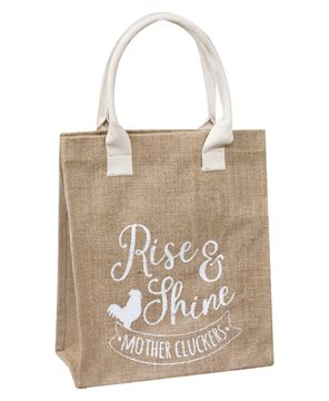 Picture of Rise and Shine Mother Cluckers Tote