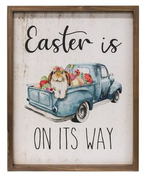 Picture of Easter Is On Its Way Framed Print