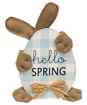 Picture of Hello Spring Huggy Bunny Sitter