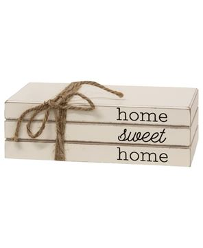 Picture of Home Sweet Home Stacked Books