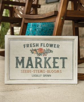 Picture of Fresh Flower Market Sign