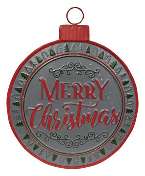 Picture of Merry Christmas Metal Bulb Sign