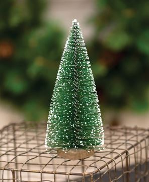 Picture of Snowy Bottle Brush Tree, 6""