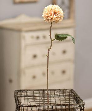 """Picture of Pompom Flower Stem, 14"""", Pink"""