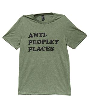 Picture of Anti Peopley T-Shirt, Heather City Green