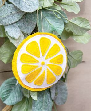 Picture of Felt Lemon Slice Ornament