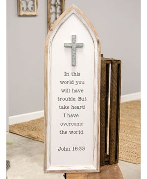 Picture of John 13 Cathedral Arch Sign