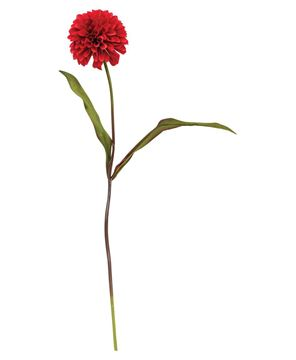 Picture of Ball Chrysanthemum Spray, Red, 29""