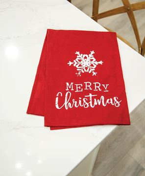 Picture of Merry Christmas Dish Towel