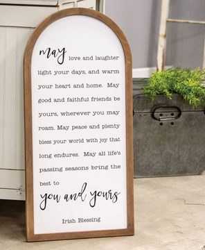 Picture of Irish Blessing Arch Sign