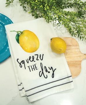 Picture of Squeeze the Day Dish Towel
