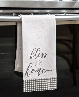 Picture of Bless This Home Dish Towel