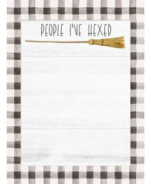 Picture of People I've Hexed Mini Notepad