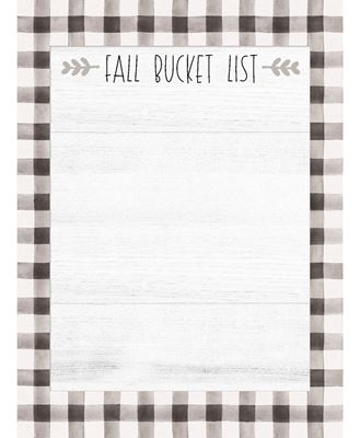 Picture of Fall Bucket List Mini Notepad