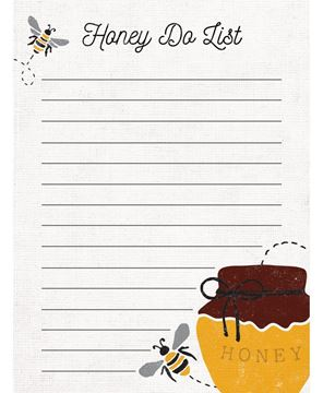 Picture of Honey Do List Mini Notepad