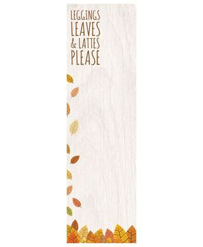 Picture of Leggings Leaves & Lattes Please Notepad