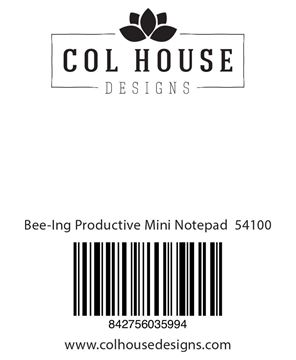 Picture of Bee-Ing Productive Mini Notepad