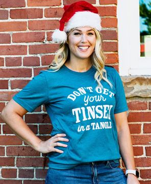Picture of Tinsel In A Tangle T-Shirt , XXL