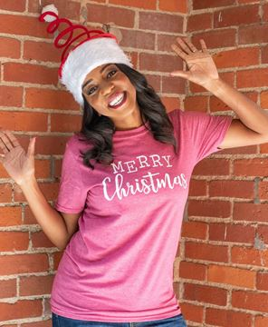 Picture of Merry Christmas T-Shirt, XXL