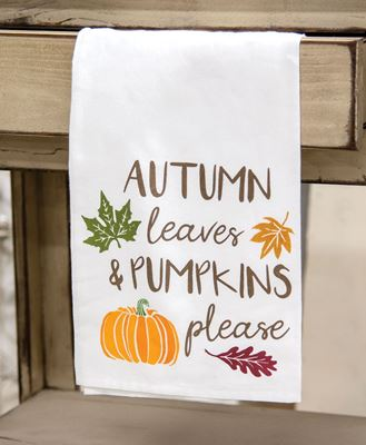 Picture of Autumn Leaves Dish Towel
