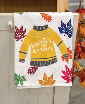 Picture of Fall Sweater Dish Towel