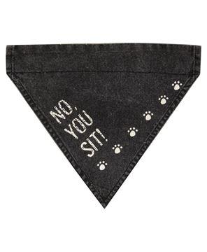 Picture of No, You Sit! Dog Bandana