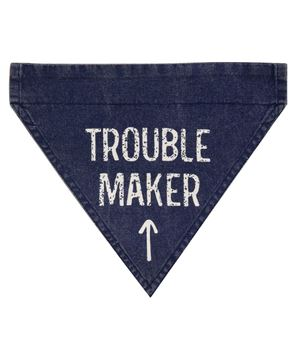 Picture of Trouble Maker Dog Bandana