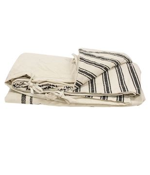 Picture of Farmhouse Stripe Duvet Cover, Queen