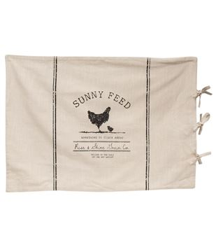 Picture of Sunny Feed Farmhouse Stripe King Pillow Sham