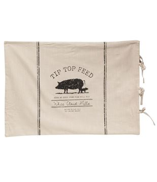 Picture of Tip Top Feed Farmhouse Stripe King Pillow Sham
