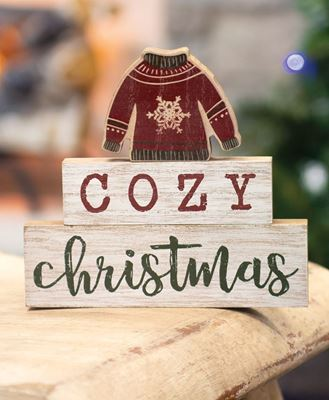 Picture of Cozy Christmas Sweater Stackers, 3/Set