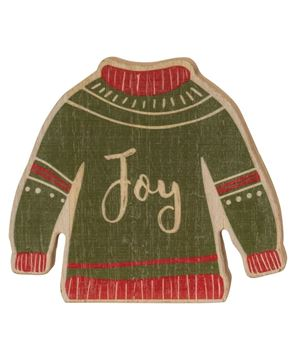 Picture of Christmas Sweater Chunky Sitter, 3 Asstd.