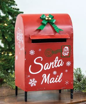 Picture of Santa Mail Box