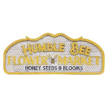 Picture of Humble Bee Flower Market Sign