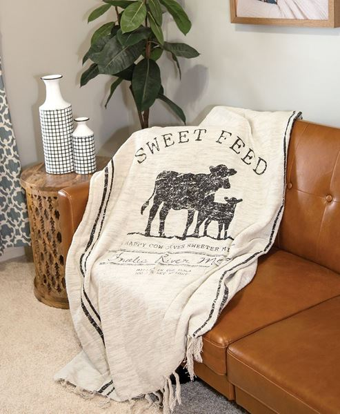 Picture of Sweet Feed Farmhouse Throw