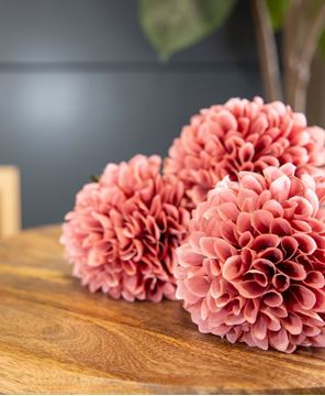 Picture of Ball Chrysanthemum Spray, Mauve, 29""