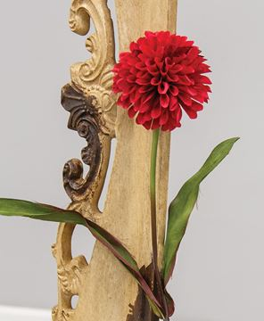 """Picture of Ball Chrysanthemum Spray, Red, 29"""""""