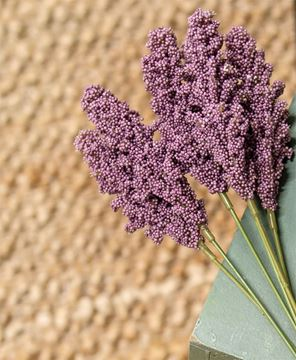 "Picture of Icker Flower Bouquet, 12"", Purple"
