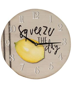 Picture of Squeeze the Day Clock