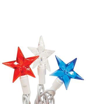 Picture of LED Patriotic Mini Star Lights, 20Ct.