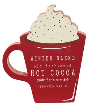 Picture of Winter Blend Hot Cocoa Chunky Cup Sitter
