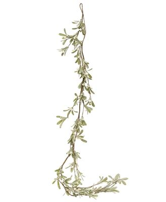 Picture of Glittered Mistletoe Garland, 5ft