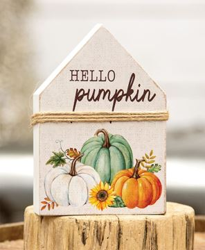 Picture of Hello Pumpkin Chunky House Sitter