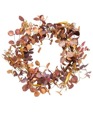Picture of Autumn Silver Dollar Wreath
