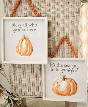 Picture of Bless All Beaded Sign, 2 Asstd.