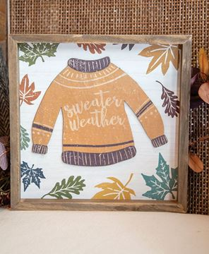 Picture of Sweater Weather Distressed Frame