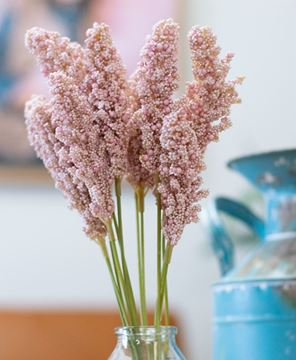 "Picture of Icker Flower Bouquet, 12"", Light Pink"