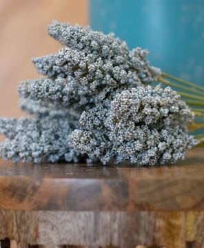 "Picture of Icker Flower Bouquet, 12"", Light Blue"