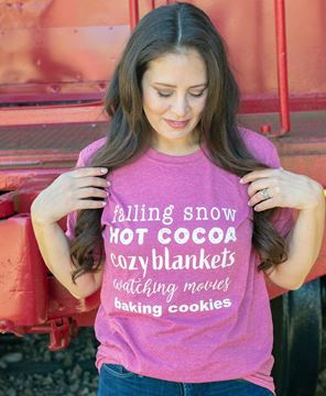 Picture of Falling Snow T-Shirt XXL