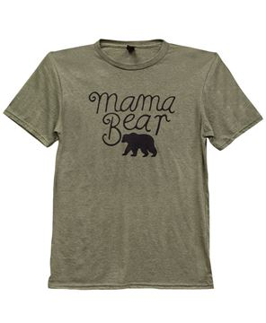 Picture of Mama Bear T-Shirt, Heather City Green XXL